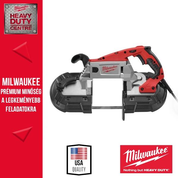Milwaukee BS 125 Szalagfűrész