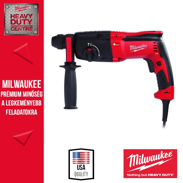 Milwaukee PFH 26 Fúrókalapács