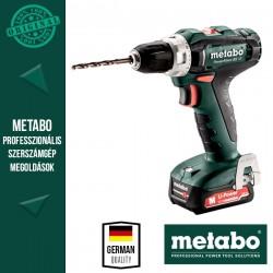 METABO PowerMaxx BS 12 Akkus fúrócsavarozó (1x 12 V/2,0 Ah akkuval és töltővel)