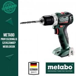 METABO PowerMaxx BS 12 BL Akkus fúrócsavarozó alapgép