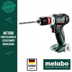 METABO PowerMaxx BS 12 BL Q Akkus fúrócsavarozó MetaLoc hordtáskában alapgép