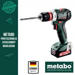 METABO PowerMaxx BS 12 BL Q Akkus fúrócsavarozó metaBOX kofferben (2x 12 V/2,0 Ah akkuval és töltővel)