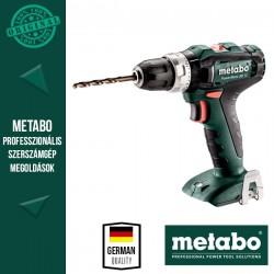 METABO PowerMaxx SB 12 Akkus fúrócsavarozó MetaLoc hordtáskában, alapgép