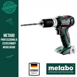 METABO PowerMaxx SB 12 BL Akkus ütvefúró-csavarbehajtó MetaLoc hordtáskában, alapgép