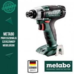 METABO PowerMaxx SSD 12 Akkus ütvecsavarozó MetaLoc hordtáskában, alapgép