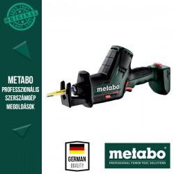 METABO PowerMaxx SSE 12 BL Akkus Kardfűrész MetaLoc hordtáskában, alapgép
