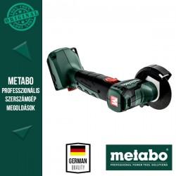 METABO PowerMaxx CC 12 BL Akkus Sarokcsiszoló alapgép