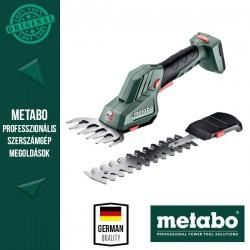 METABO PowerMaxx SGS 12 Q Akkus Bokorvágó és fűnyíró olló alapgép