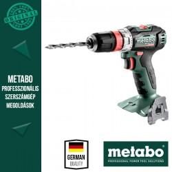 METABO BS 18 L BL Q Akkus Fúrócsavarozó alapgép