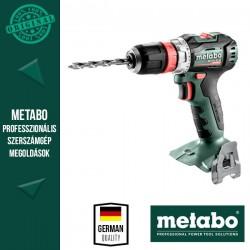 METABO BS 18 L BL Q Akkus Fúrócsavarozó metaBOX kofferben, alapgép