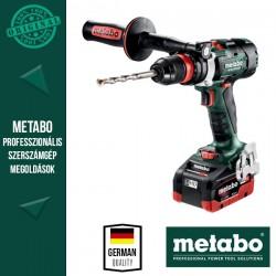 METABO BS 18 LTX-3 BL Q I Akkus Fúrócsavarozó metaBOX kofferben (2x 18 V/5,5 Ah akkuval és töltővel)