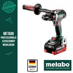 METABO BS 18 LTX BL I Akkus Fúrócsavarozó metaBOX kofferben (2x 18 V/5,5 Ah akkuval és töltővel)
