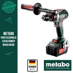 METABO BS 18 LTX BL I Akkus Fúrócsavarozó metaBOX kofferben (2x 18 V/5,2 Ah akkuval és töltővel)