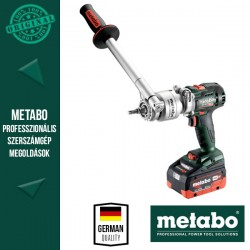METABO BS 18 LTX BL Q I Akkus Fúrócsavarozó metaBOX kofferben, kiegészítő markolattal (2x 18 V/5,5 Ah akkuval és töltővel)