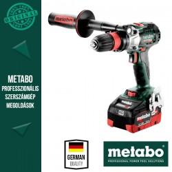 METABO GB 18 LTX BL Q I Akkus Menetfúró metaBOX kofferben (2x 18 V/5,5 Ah akkuval és töltővel)