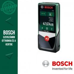BOSCH PLR 50 C Digitális lézeres távolságmérő kartondobozban
