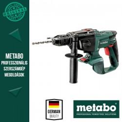 METABO SBE 18 LTX Akkus Ütvefúró MetaLoc hordtáskával, alapgép