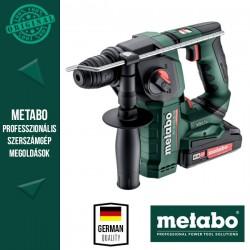 METABO BH 18 LTX BL 16 Akkus Kombikalapács metaBOX kofferben (2x 18 V/2,0 Ah akkuval és töltővel)