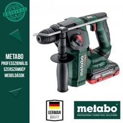 METABO BH 18 LTX BL 16 Akkus Kombikalapács metaBOX kofferben (2x 18 V/4,0 Ah akkuval és töltővel)