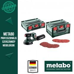 METABO SET SXA 18 LTX 125 BL Akkus Excentercsiszoló szett (akku és töltő nélkül)