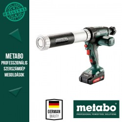 METABO KPA 18 LTX 400 Akkus Kartuspisztoly (1x 18 V/2,0 Ah akkuval és töltővel)