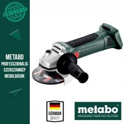 METABO W 18 LTX 125 Akkus Sarokcsiszoló metaBOX kofferben, alapgép