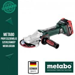 METABO WF 18 LTX 125 QUICK Akkus Sarokcsiszoló metaBOX kofferben (2x 18 V/5,5 Ah akkuval és töltővel)