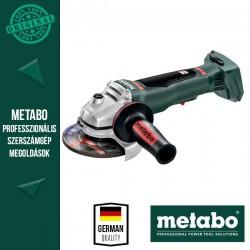 METABO WPB 18 LTX BL 125 QUICK Akkus Sarokcsiszoló metaBOX kofferben, alapgép