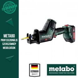 METABO SSE 18 LTX BL COMPACT Akkus Kardfűrész metaBOX kofferben (2x 18 V/2,0 Ah akkuval és töltővel)