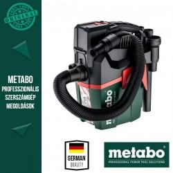 METABO AS 18 HEPA PC COMPACT Akkus Porszívó HEPA szűrővel, alapgép