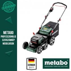 METABO RM 36-18 LTX BL 46 Akkus Fűnyíró (2x 18 V/5,2 Ah akkuval és töltővel)