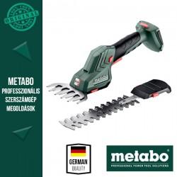 METABO SGS 18 LTX Q Akkus Bokorvágó és fűnyíró olló alapgép