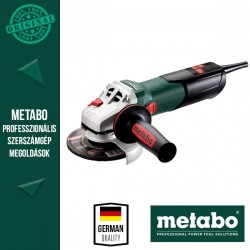 METABO W 9-125 QUICK Sarokcsiszoló metaBOX kofferben, 125 mm, 900 W