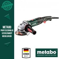 METABO WEV 1500-125 QUICK RT Sarokcsiszoló műanyag hordtáskával, 125 mm, 1500 W