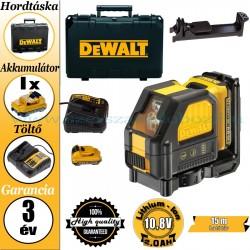 DeWalt DCE088D1R-QW Önbeálló keresztlézer