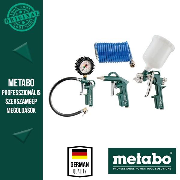 Metabo LPZ 4 Levegős tartozék készlet