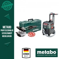 Metabo RSEV 19-125 RT Renovációs csiszolók + ASR 35 L ACP