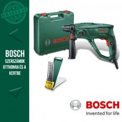 BOSCH PBH 2100 RE elektromos SDS-Plus Fúrókalapács + Tartozékkészlet kofferben