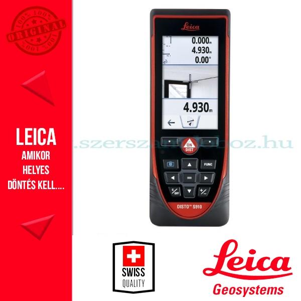Leica DISTO S910 lézeres távolságmérő