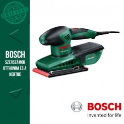 BOSCH PSS 250 AE elektromos Rezgőcsiszoló + 28 csiszolólap kofferben