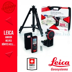 Leica DISTO D510 távolságmérő + FTA360-S adapter + TRI70 állvány