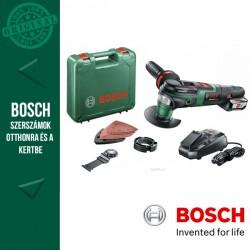 BOSCH AdvancedMulti 18 Akkus multifunkcionális gép (1x2,5 Ah) kofferben