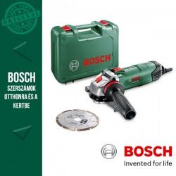 BOSCH PWS 850-125 elektromos Sarokcsiszoló kofferben