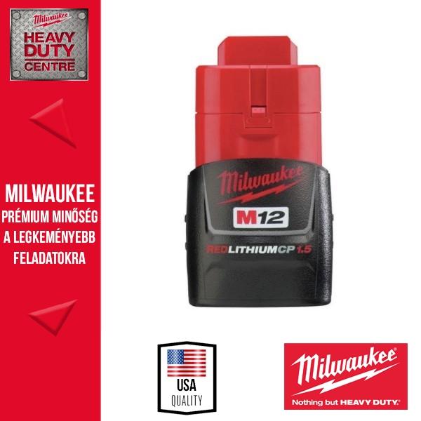 Milwaukee M12 B2 12V Li-Ion akkumulátor