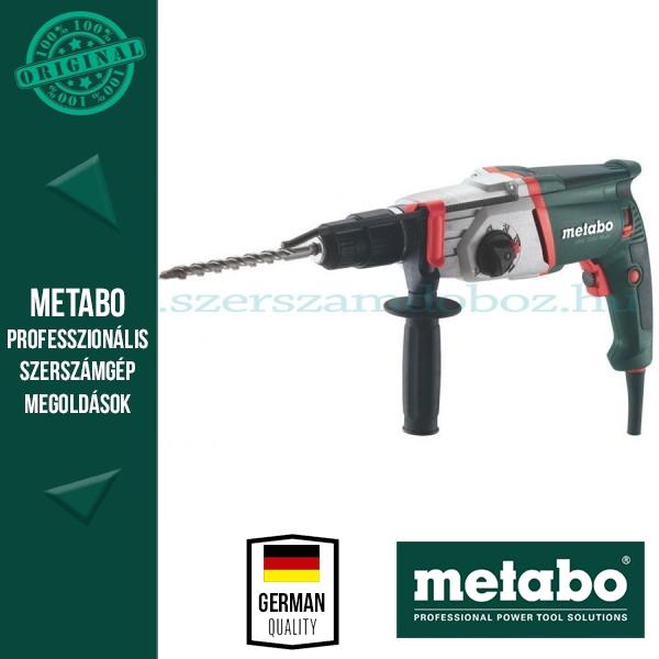Metabo UHE 2250 Fúrókalapács cseretokmánnyal