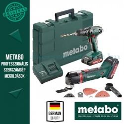 Metabo SB 18 Akkus ütvefúró-csavarozó + MT 18 LTX Multifunkciós gép