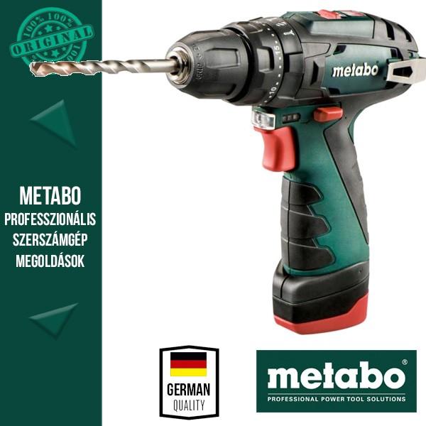 Metabo PowerMaxx SB Ütvefúró-csavarozó
