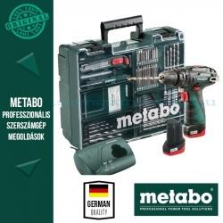 Metabo PowerMaxx SB Ütvefúró-csavarozó + Mobilműhely