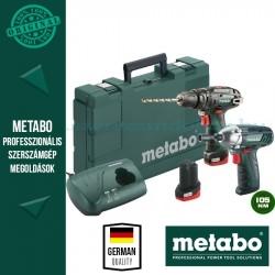 Metabo PowerMaxx SB Ütvefúró-csavarozó + SSD Powermaxx ütvecsavarozó
