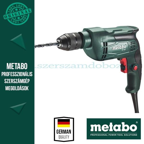 Metabo BE 650 Fúrógép